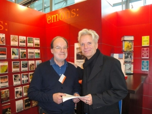 Wünsche mit seinem Verleger Herrn Hermann-Josef Emons